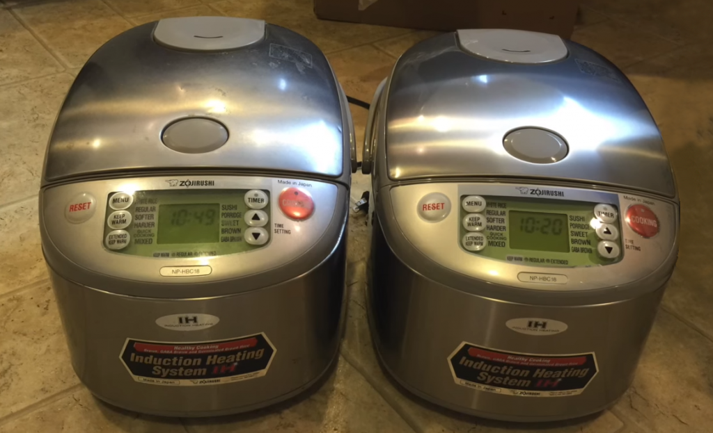 Zojirushi rice cooker
